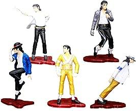5 PCs Michael Jackson Model Action Figures Dolls Kids Gifts Collection Rare
