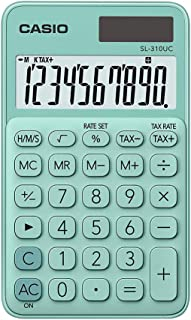 Casio Colorful 10digits SL-310UC-GN Green Portable Calculator