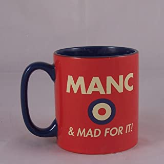 Xpressions Manc & Mad For It Manchester Mug