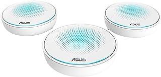 ASUS Lyra - Kit de 3 Sistemas Wi-Fi Mesh Tri-Banda AC2200 Gigabit (Triple VLAN, App de gestión, compatible con Ai Mesh wifi) color blanco