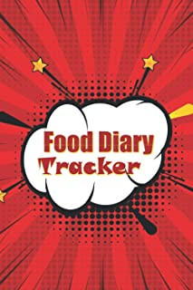 Food Diary Tracker: Track Meals, Nutrition and Weight Loss - 90 Days - Pocket Sized - Comcis Theme