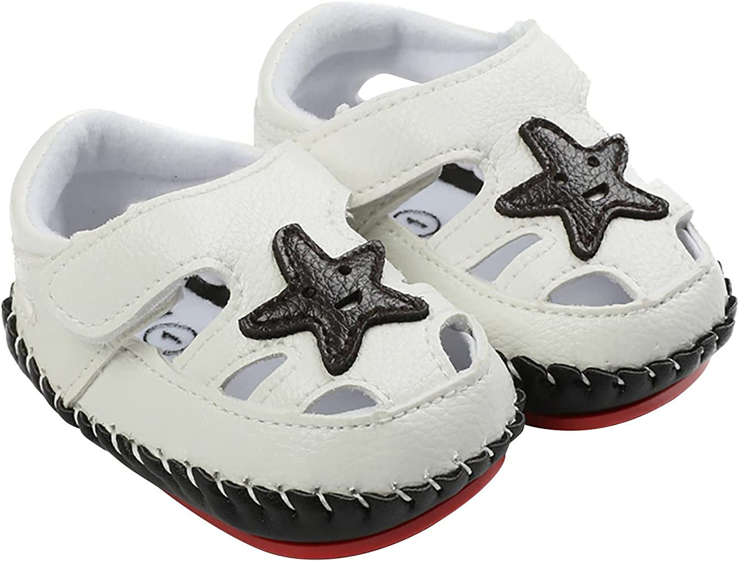 Max 51% OFF LINGLONGAN Summer Hand-Stitched Baby Non-Sl Sandals Baltimore Mall Rubber-Soled