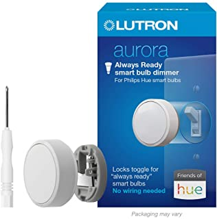 Lutron Aurora Smart Bulb Dimmer Switch with Screwdriver |...