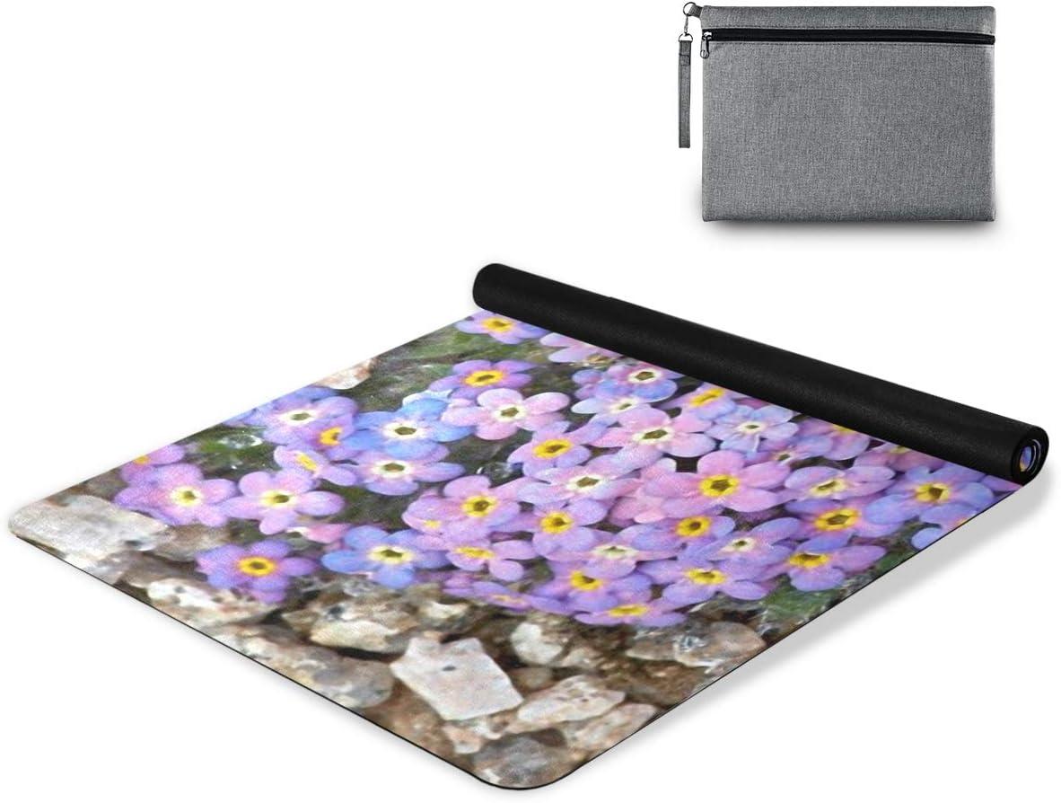 senya Non Year-end gift Slip Yoga Towel Combo Finally popular brand Microfiber Mat Flowers Set