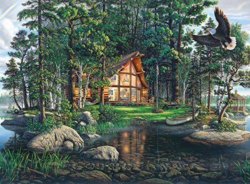 Buffalo Games Freedom's Promise by Kim Norlien Jigsaw Puzzle (1000 Piece) by