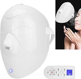 Gezichtsstomende Masker, Gezichtsbevochtiger Verwarming Ontstopt Poriën Diepe Reiniging Stoommasker, Gezichtsstomende Mask...