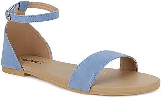 SHOFIEE WOMEN Ankle Strap Flat Sandal