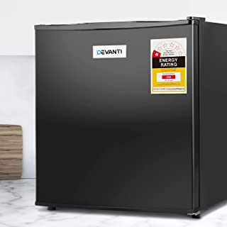 Devanti Mini Bar Fridge Portable Office Apartment Refrigerator Cooler Freezer Energy Saving 48L