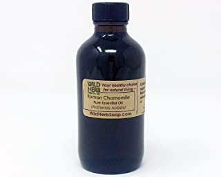 Sponsored Ad - Roman Chamomile Essential Oil (2 OZ) sourced from a USDA and ISO 9001 Certified Organic Supplier