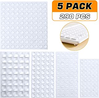 14*19*10mm KEESIN muebles armario redonda de goma caso pies antideslizante almohadillas de los parachoques Circular Negro 50Pcs