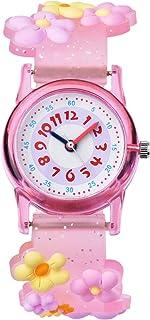 Orologio bambina ragazze Zeiger Orologio impermeabile Time Teacher al quarzo orologi per bambini gemelli ragazze