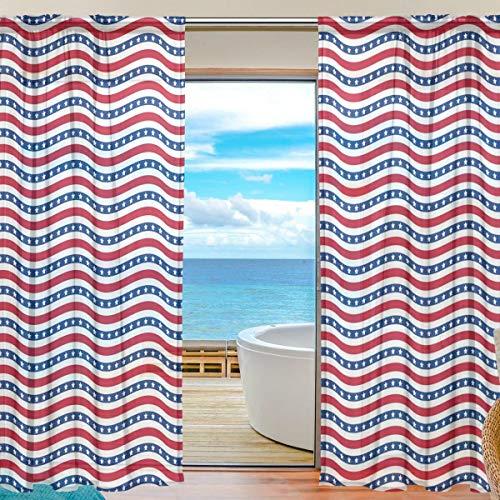 Eastery Fenster Vorhänge Gardinen Platten Fenster Behandlung Set Voile Drapes Tüll Einfacher Stil Vorhänge...