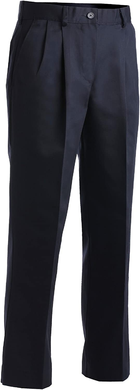 Edwards Lady 8678 Easy Fit Chino Uniform Pants, Navy