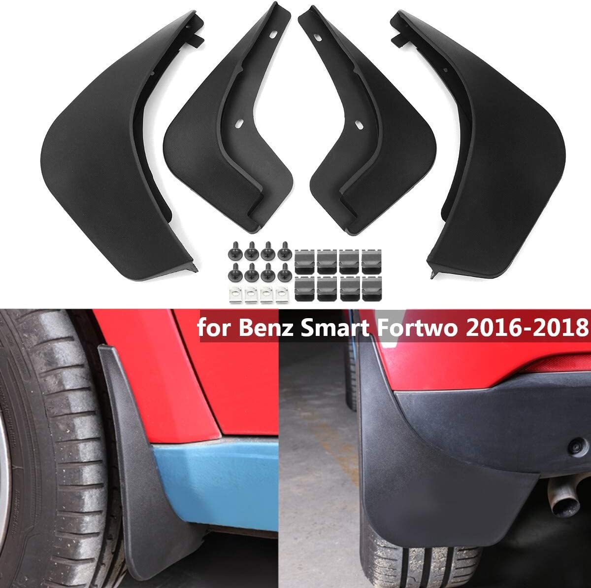 Popular products IJEOKDHDUW Car Mud Flaps Mudflaps Guards Mudguar Splash Flap Max 88% OFF