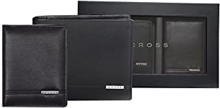 Cross Leather Black Softsided Luggage Set (ACC054B)