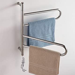 Martll Radiador de toallas Radiador de toallas Calentador de toallas eléctrico Secador de toallas Radiador de toallas eléctrico en Para secar toallas 610 * 560MM