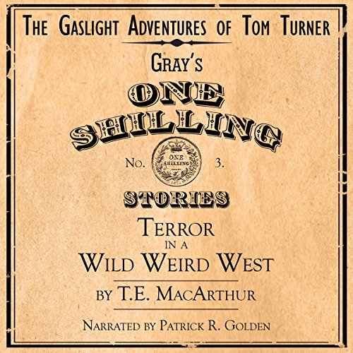 Terror in a Wild Weird West audiobook cover art
