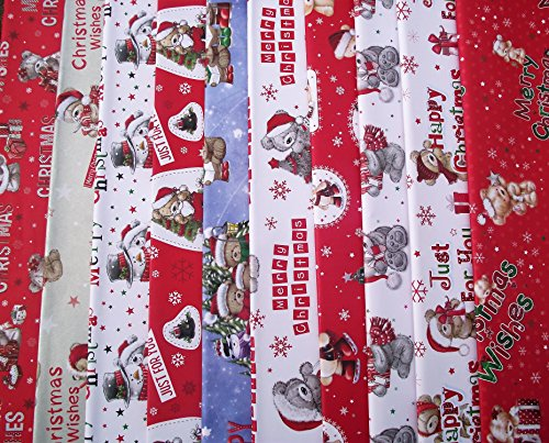 20 SHEETS OF CUTE CHILDRENS CHRISTMAS WRAPPING PAPER