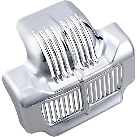 Street Bikes Chrome Oil Cooler Trim Cover For Harley Electra Glide Touring 17-18