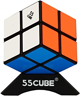2x2 Cube, Upgrade Structure, for All Ages & Beginners - More Smoothly Than Original Speed Cube