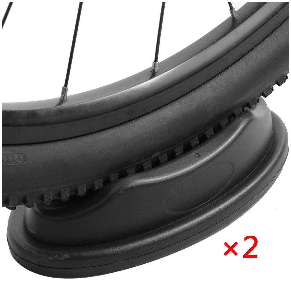 2 PCS de la rueda delantera vertical rueda de la bici vertical del bloque de montaña bicicleta carretera Trainer rueda bicicleta Monte soporte reposo - cubierta del soporte Formación bicicletas,A: Amazon.es: Deportes