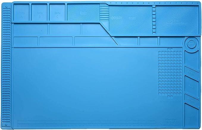 2045 opinioni per 55 x 35 cm Tappeto da Lavoro Aweohtle Tappetino in Silicone Antistatiche