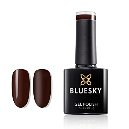 Bluesky Paradise Deep Red 80575 10ml Gel Nail Polish For Shiny And Beautiful Nails Long Lasting Up To 3 Weeks Beauty
