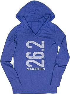 Running Lightweight Performance Hoodie | 26.2 Marathon Vertical | Assorted Color