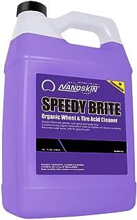 Nanoskin SPEEDY BRITE Organic Wheel & Tire Acid Cleaner - 1 Gallon, 128. Fluid_Ounces