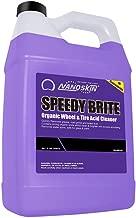 Nanoskin (NA-SBE128) Speedy Brite Organic Wheel & Tire Acid Cleaner - 1 Gallon