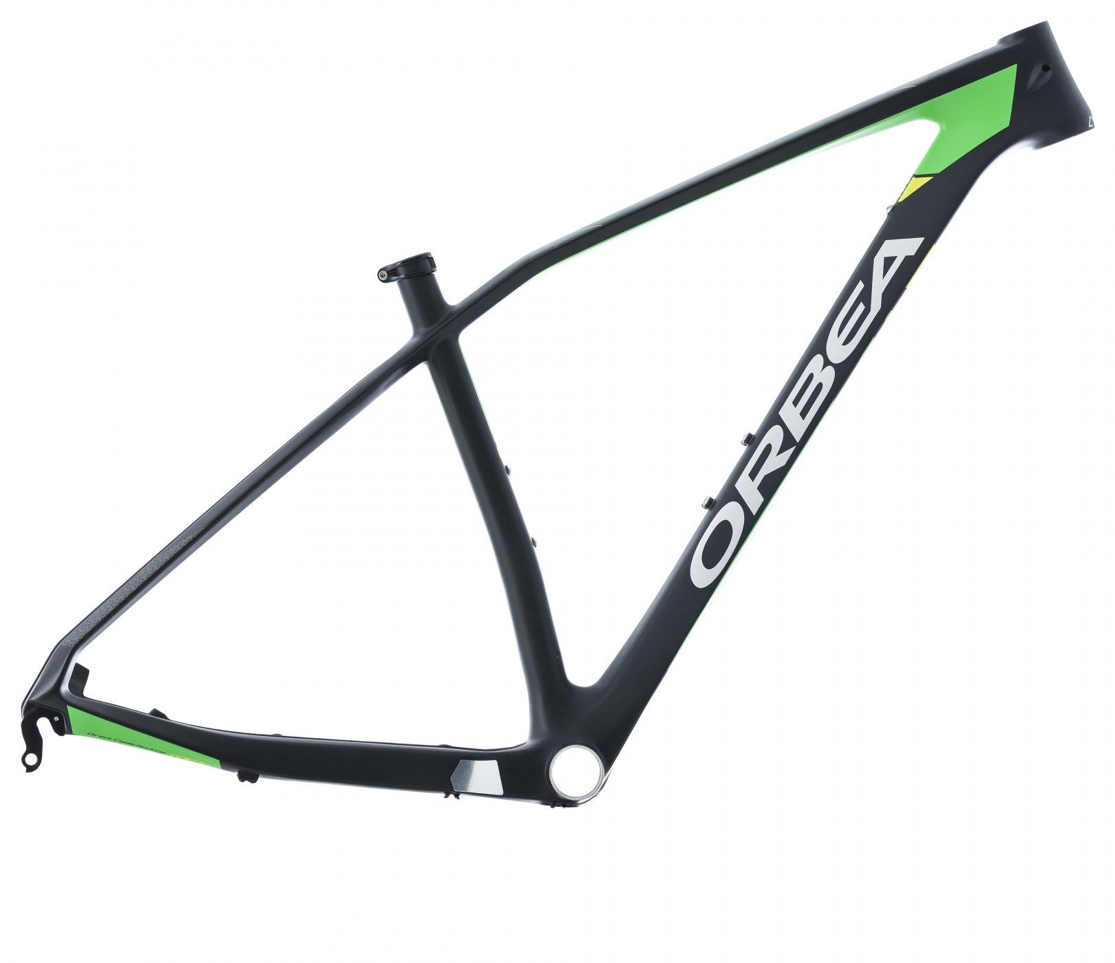 Bicicleta Montaña Orbea alma M50, 29 pulgadas, talla M, verde-amarillo: Amazon.es: Deportes y aire libre