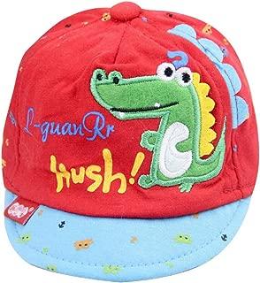 IMLECK Baby Cute Cartoon Reversible Baseball Cap Infant Sun Hat
