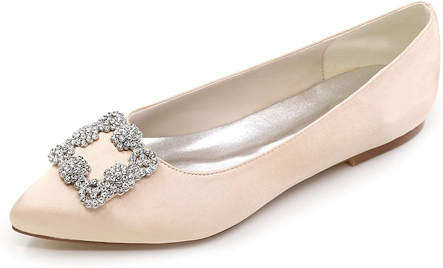 L@YC F Women Wedding shoes Fine Heel Pointed to Toe Pump High Heels Wedding Party Evening & More Available colors