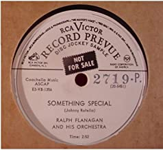 Ralph Flanagan & His Orchestra Very Nice Radio Station Promo Issue 10 Inch 78 rpm - Something Special / Peter Piper Boogie - RCA Victor Record Prevue Disc Jockey Records 1953