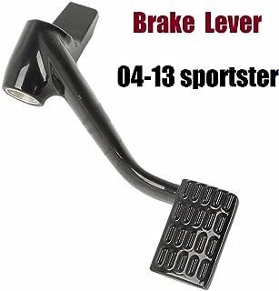 Gloss Black Forward Controls harley sportster brake lever Rear lever for Harley Sportster 04-13