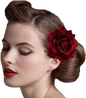 Ever Fairy Bride Women Rose Flower Wreath Crown Hairband Wedding Garland Elastic Headband Hair Accessories
