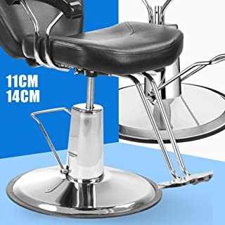 Chair Hydraulic Pump Cylinder Replacement Heavy Duty Barber Salon Chair Adjustable Gas Lift Pneumatic Shock 4 Screw Pattern with 23inch Base Hair Cutting Spa Equipment (5.5inch Stroke)