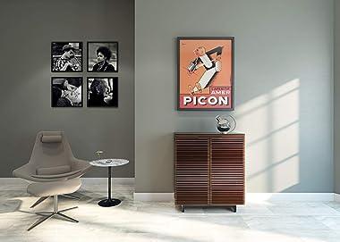 BDI Furniture Corridor Bar, Chocolate Stained Walnut