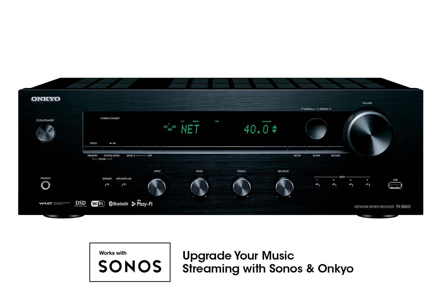 Onkyo TX 8260 Channel Network Receiver