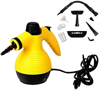 Goplus Unknown Pressurized Cleaner, Multi-Purpose Steamer, Steam Iron, 2050W, W/Attachments, red