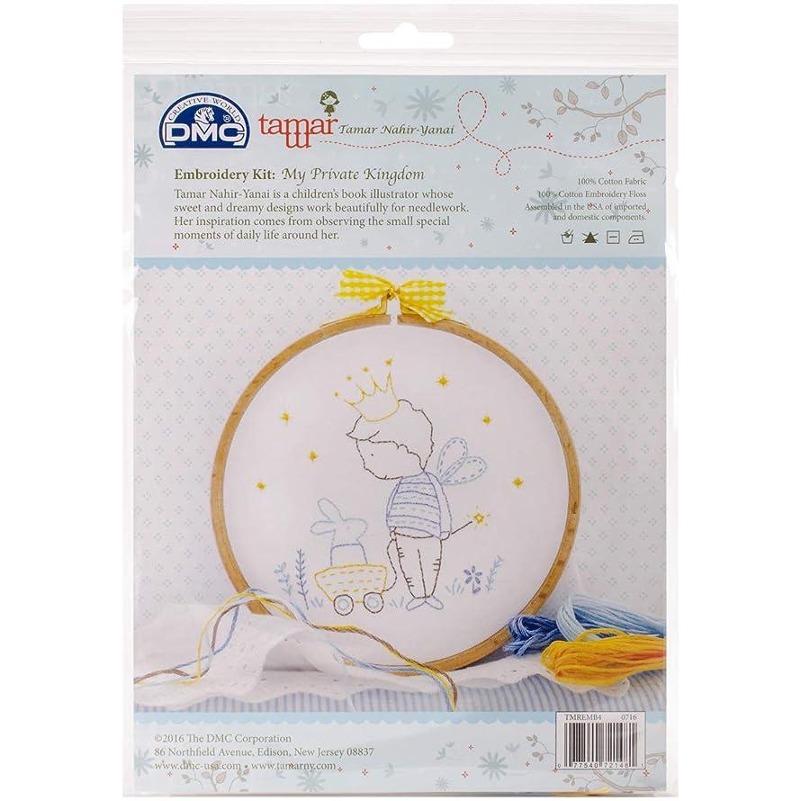 DMC My My Private Kingdom Charles Craft/Tamar Embroidery Kit