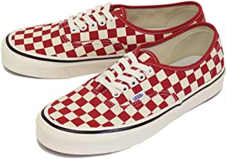 Authentic 44 DX (Anaheim Factory) OG Red/Check Men's 10, Women's 11.5