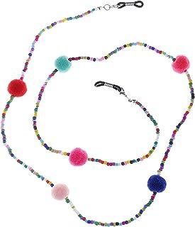 753af423d5 SGerste - Collar de peluche con cordón para gafas y gafas