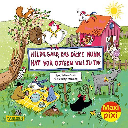 Maxi Pixi 346: VE 5: Hildegard das dicke Huhn, hat vor Ostern viel zu tun (5x1 Exemplar) (346)
