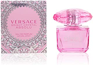 Versace Bright Crystal Absolu Eau de Parfum Spray for Women, 3 Ounce