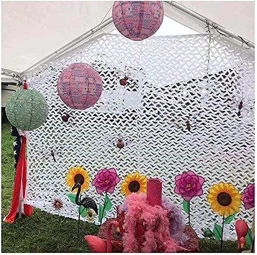 WXHHH Red del Camuflaje del toldo de la Red del Camuflaje para la decoración del balcón, terraza, jardín |Tejido Oxford |Toldo para Tienda de campaña con Red de Camuflaje para niños (tamaño: 9x10m)