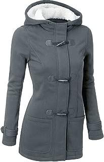 Womens Coat Winter Warm Windbreaker Cotton Wool Slim Long Coat Jacket Hoodies Trench Outwear Plus Siz