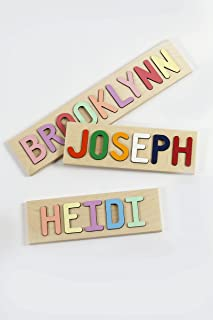 Kids Personalized Wooden Name Puzzle –10-12 Characters (Including Spaces)