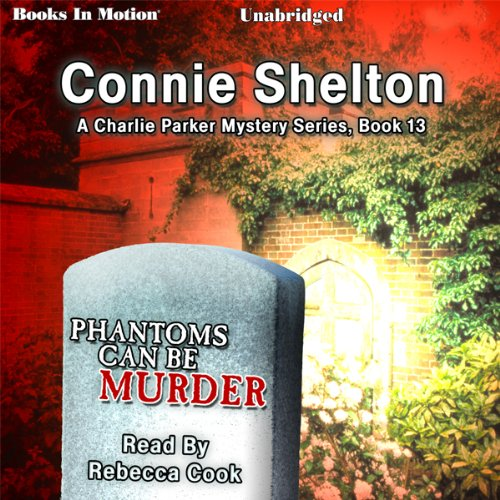 Phantoms Can Be Murder audiobook cover art