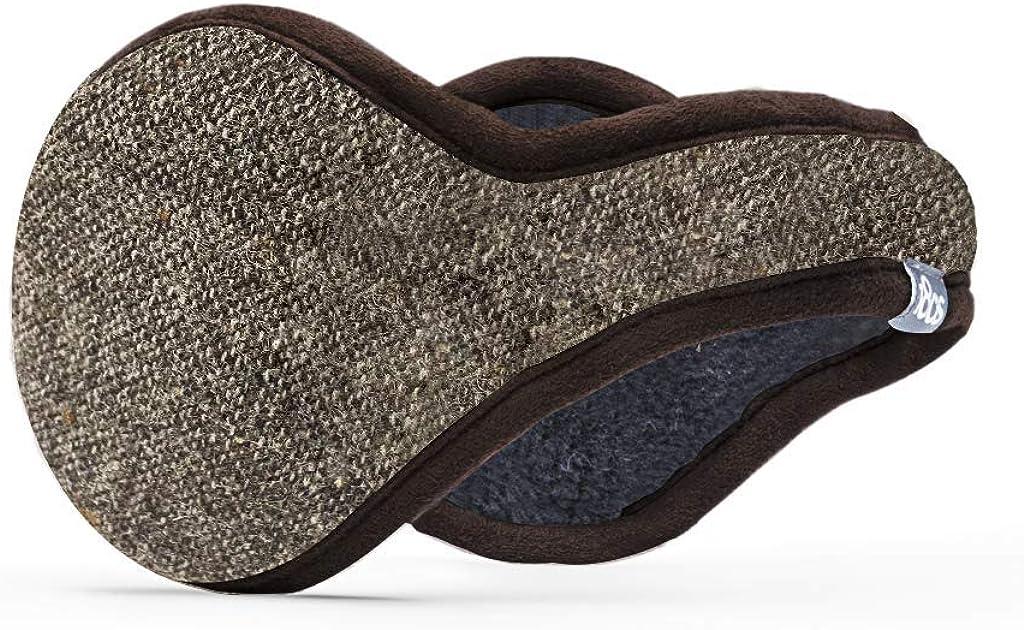 180s Men's Wool Behind the Head Ear Warmer